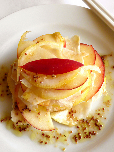 Apple, celeriac and lemon salad